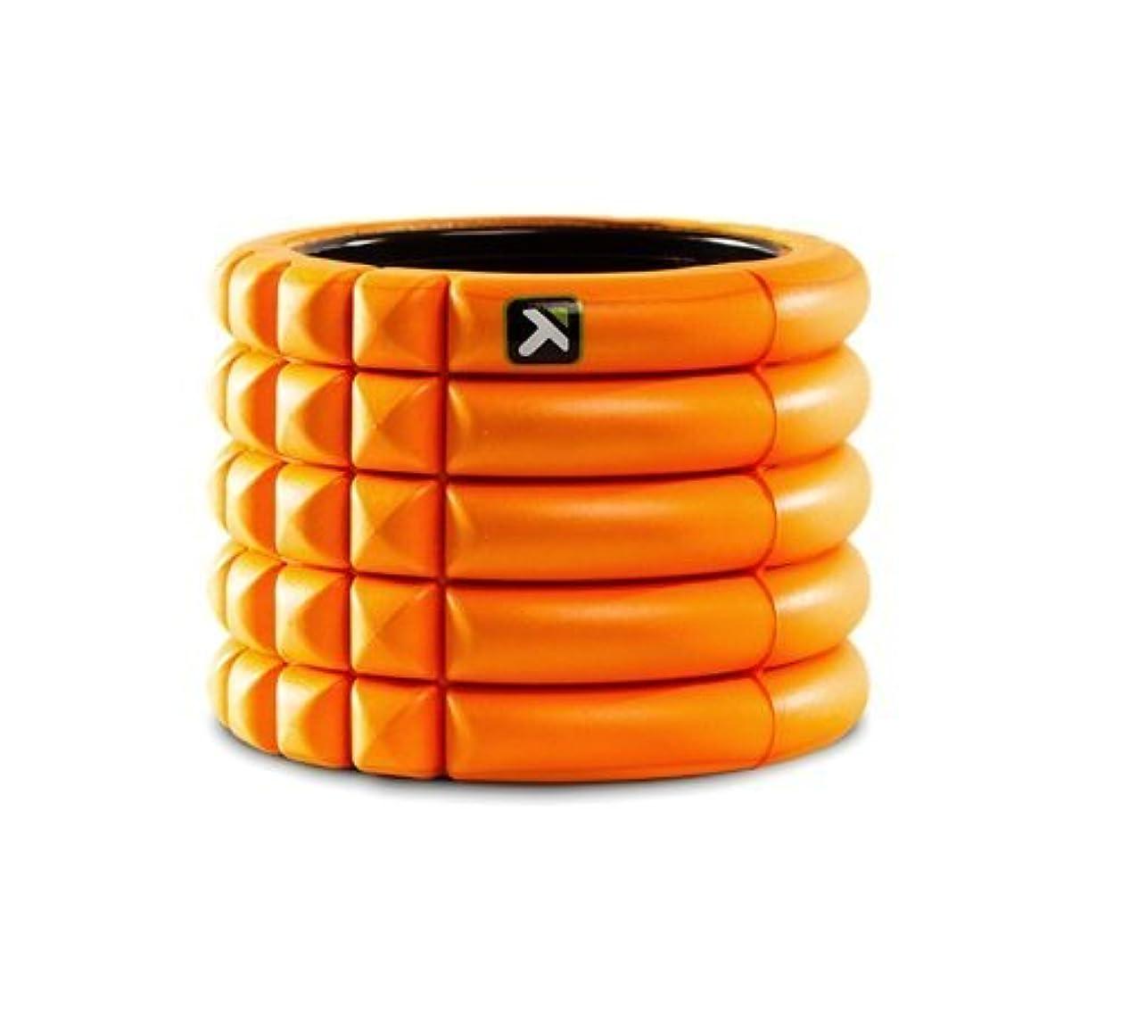 グリット準備した離婚グリッドフォームローラーミニ The GRID Foam Roller Mini Trigger point (Orange, mini) [並行輸入品]