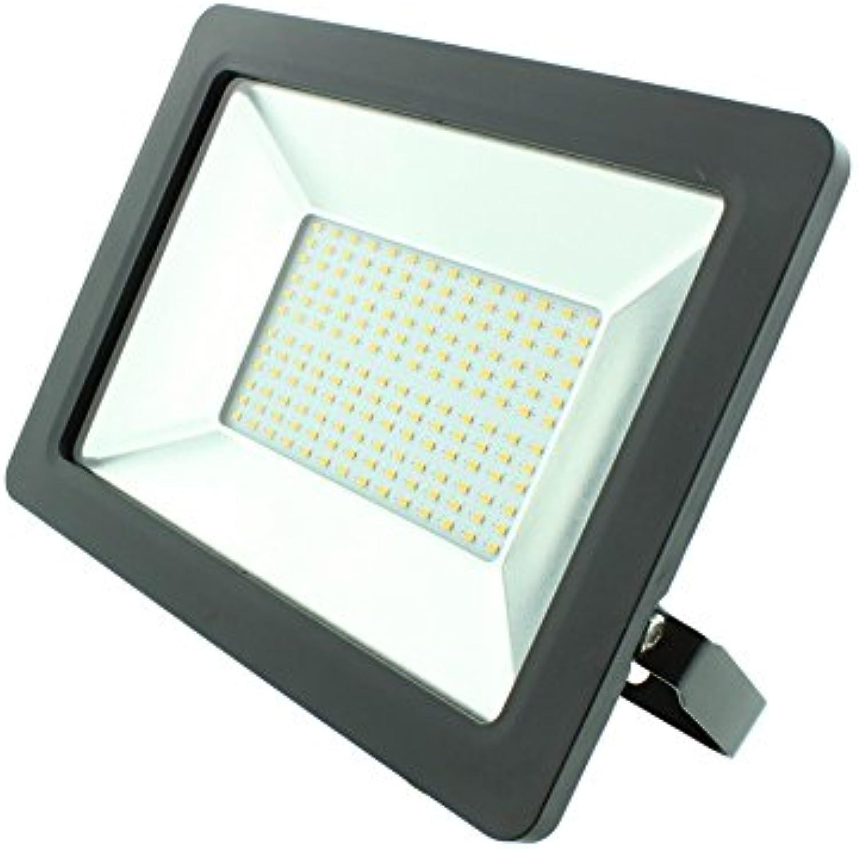 LED-Flutlicht-Strahler economic Line 100 Watt 6000 k kaltwei 8000 Lumen