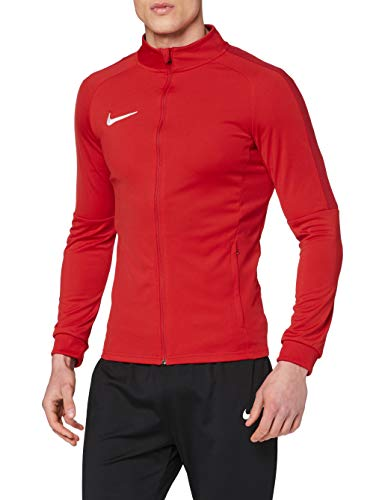 NIKE M NK Dry Acdmy18 Trk Jkt K Sport jacket, Hombre, University Red/ Gym Red/ White, 2XL