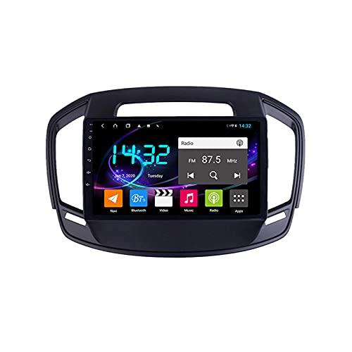Android 10.0 Car Stereo Sat Nav Radio para Opel Insignia/Buick Regal 2013-2017 Navegación GPS 2 DIN 9 '' Unidad Principal Reproductor Multimedia MP5 Receptor de Video con 4G FM DSP WiFi SWC Carplay