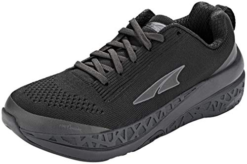 ALTRA Women's Paradigm 4.5 Road Running Shoe, Black - 6 M US