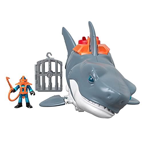 Imaginext - DC Super Friends Batman Tiburón Megamandíbulas Juguetes niños