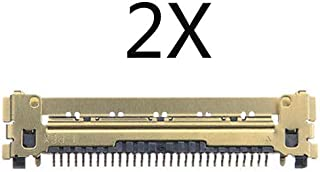 2X LCD Screen Display LVDS Ribbon Cable Replacement Compatible with MacBook Pro Air A1465 A1369 A1466 A1398 A1425 A1502