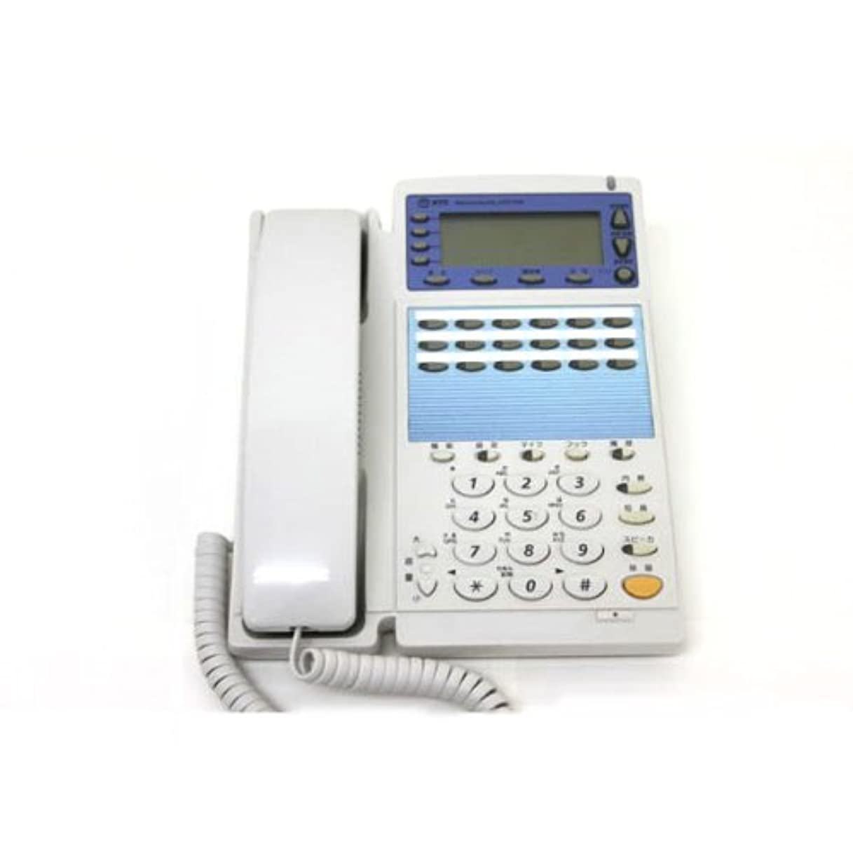 見物人感じ競争NTTビジネスホン GX-18キー標準スター電話機 白