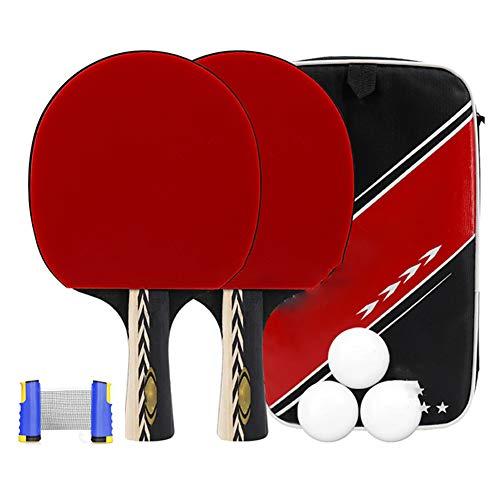 Juego De Tenis De Mesa Retráctil, Juego De Paleta De Ping Pong Juego De Tenis De Mesa para Adultos para Niños Apto para Deportes Al Aire Libre En Interiores