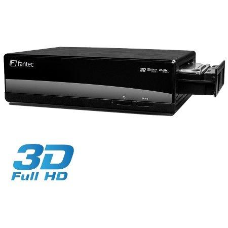 FANTEC 3DAluPlay Media Player 1TB
