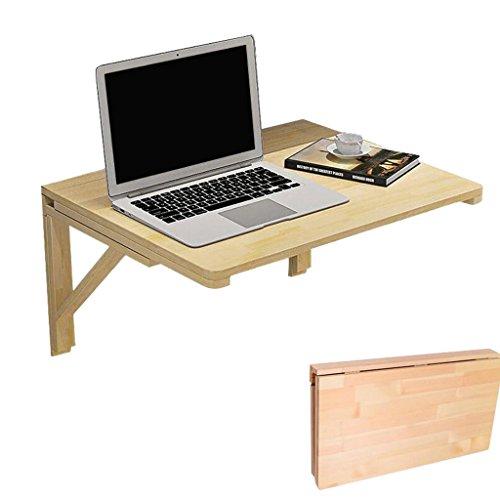 Bureau d'ordinateur Portable Table Murale Rabattable Table Pliante Murale Pliante en Bois Table De Cuisine Et Salle À Manger (Taille : 80cm*40cm)