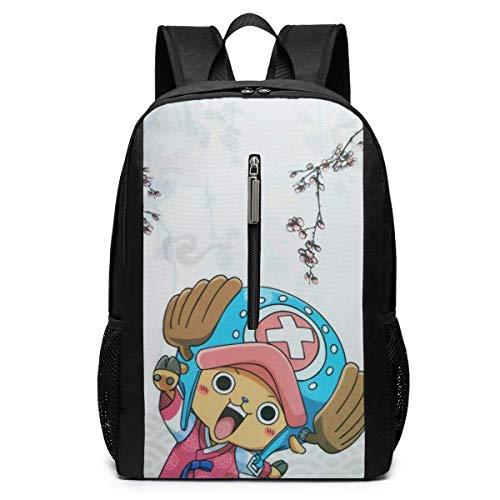 Backpack 17 Inch, Cute Chopper Large Laptop Bag Travel Hiking Daypack for Men Women School Work