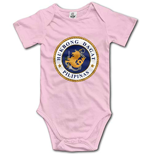 Klotr Philippine Navy Seal Infant Baby Manche Courte Bodysuits Rompers Outfits
