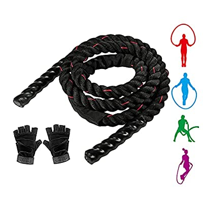 Amazon - 80% Off on Heavy Jump Ropes for Workouts, Fitness, Cardio, and Exercise