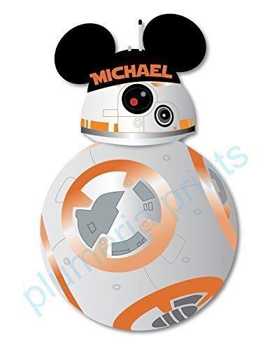 HANDMADE Disney Inspired BB8 Magnet for Disney Cruise
