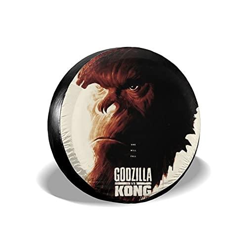 Godzilla - Cubiertas para neumáticos,remolques de viaje,camioneta,todoterreno,autocaravana,protege los neumáticos de repuesto para llantas,lindos accesorios de almacenamiento de 14 pulgadas