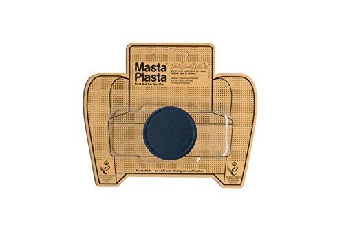 MastaPlasta - Parches autoadhesivos para reparación de Cuero y Otros Tejidos. Azul Marino. Elije el tamaño y el diseño. Primeros Auxilios para sofás, Asientos de Coche, Bolsos, Chaquetas