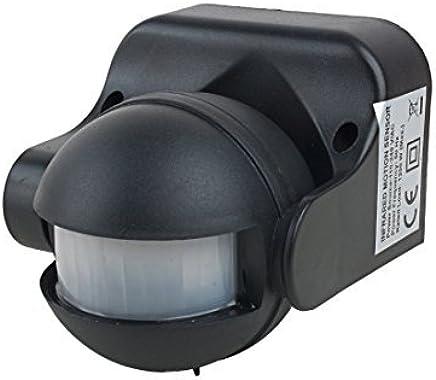 eDealMax détecteur de mouvement détecteur AC 110V-240V extérieur du Corps humain Détecteur infrarouge de