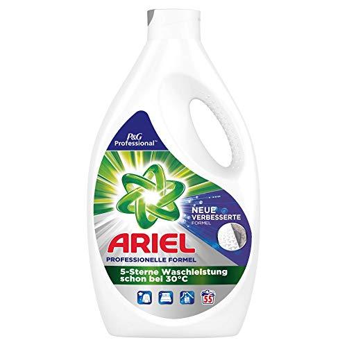 Ariel Professional Vollwaschmittel flüssig Vollwaschmittel 3,025 L– 55Waschladungen