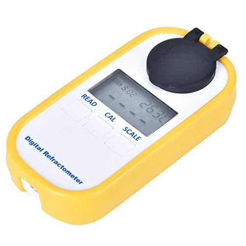 Kaffee Densitometer, DR701 Digitales Kaffeekonzentrations Messgerät Refraktometer Brix/TDS-Messwerkzeug Messen Sie den Wert von Fruchtzucker, Milchtee, Getränken, Lebensmitteln
