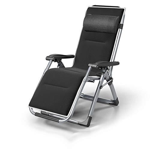 Lounge Chair Tumbona de jardín de Gravedad Cero Silla Plegable Sillas reclinables de Exterior para Patio, Portavasos de Piscina,B
