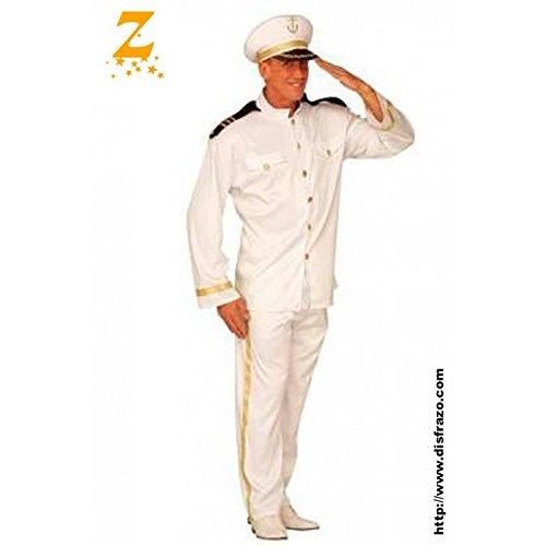 Disfraz Capitán Marina Adulto: Amazon.es: Hogar