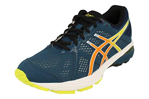 Asics GT-Xpress Hombre Running Trainers 1011A723 Sneakers Zapatos (UK 12 US 13 EU 48, mako Blue Bengal Orange 401)