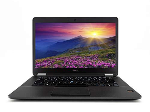 Dell Notebook Latitude E7470 14 Zoll Full HD I Business Laptop I Intel Core i5 -6.Gen 8 GB RAM - 256 GB SSD Win 10 Pro I Tastatur DE | schwatz (Generalüberholt)