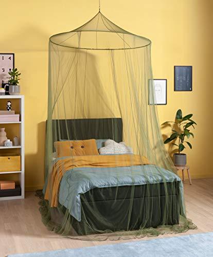 RSP/® Moustiquaire Home Drap-Housse pour lit Double avec tr/ès Grand Anneau pour la Maison