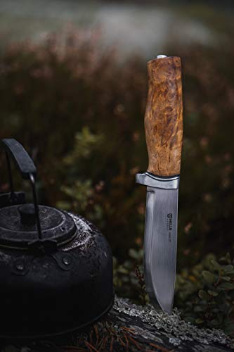 Helle Knives - Helle GT - Triple Laminated Stainless Steel - Traditional Field Knife - Made in Norway