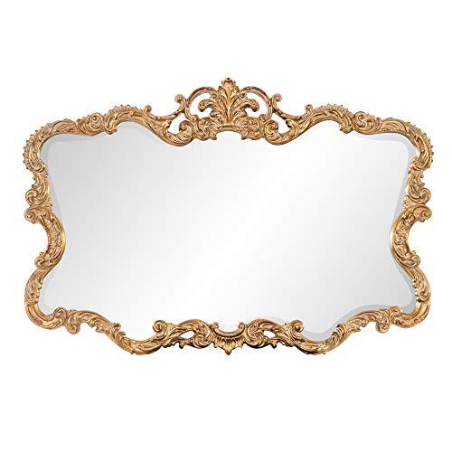 Howard Elliott Talida Mirror, Ornate Wall Focal Point, Resin...