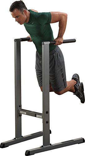 Body-Solid GDIP59 Dipständer Dip-Station Dips Barren Trizepstrainer Push Up Stand Bar