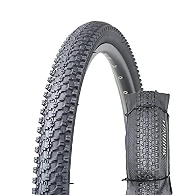 Bike Tire,26x1.95 Folding Bead Replacement Tire for MTB Mountain Bicycle