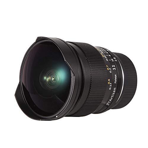 TTArtisan - Obiettivo per fotocamera F2.8 Full Fame Fisheye compatibile con fotocamere Sony E Mount come A7 A7II A7R A7RII A7S A7SII A6500 A6300 A6000 A5100 A500