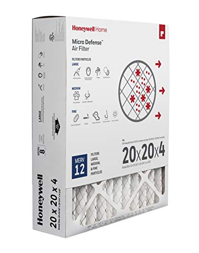 Honeywell Home CF200A1024/E CF200A1024 4 Inch Ultra Efficiency Air Filter, 20 x 20 x 4