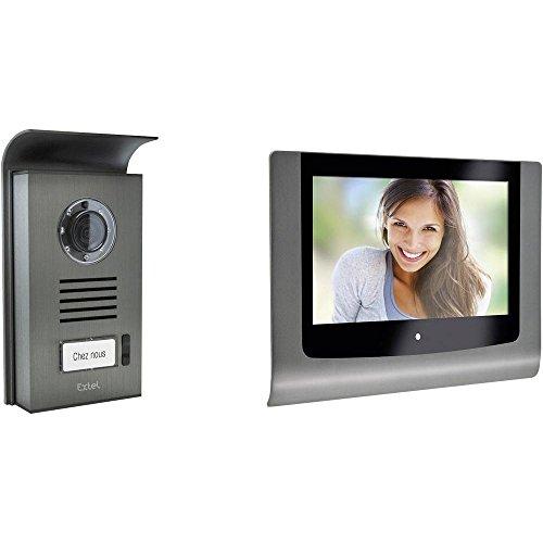 Extel - 720216 Videocitofono a colori a 2 fili e monitor 7''18 cm