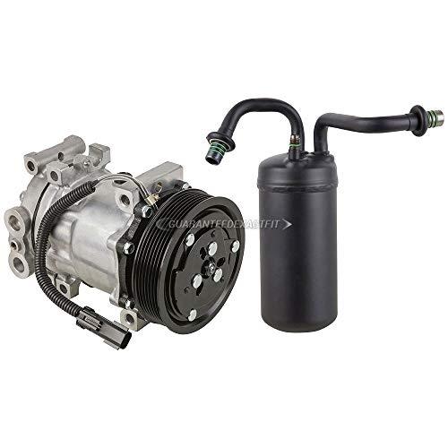 AC Compressor w/A/C Drier For Dodge Ram Gas 1994 1995 1996 1997 1998 1999 2000 2001 - DOES NOT FIT RAM CUMMINS DIESEL - BuyAutoParts 60-86205R2 NEW