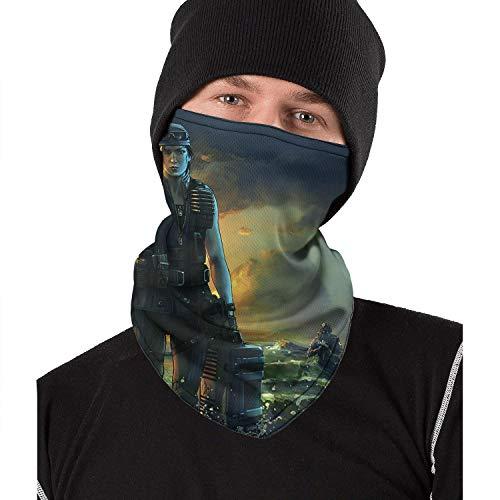 Men Women Tom-Clancy's-Rainbow-Six-Siege-Game- Half Balaclava Face Mask Cover Cycling Neck Gaiter Wind-Resistant Headwear