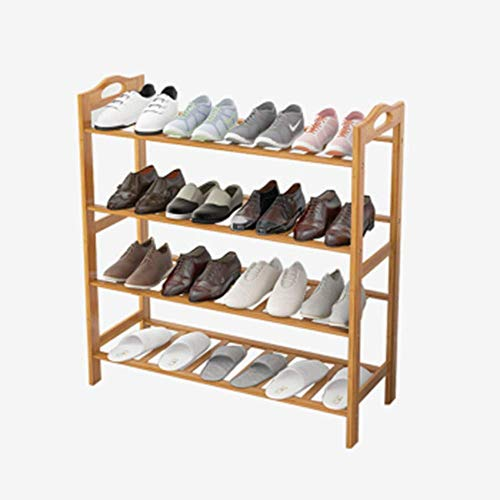 PYROJEWEL Bastidores de zapatos zapato ajustable de almacenamiento en rack de zapatos Organizador del soporte del estante Hold Actualiza robusto diseño de ahorro de espacio Fácil Ensamble ahorro de es