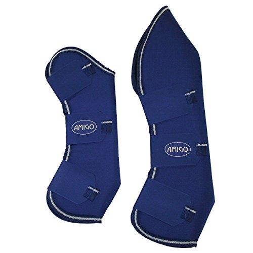 Amigo Travel Boots Travel Boot Pony Atlantic Blue Ivory