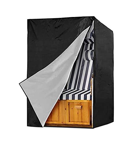 LJWLZFVT Cubierta de balancín de jardín Columpio de jardín, Cubierta de Silla de Playa, Impermeable, Cubierta de sillón de Playa 210D Oxford(Size:135X105X175/140cm)