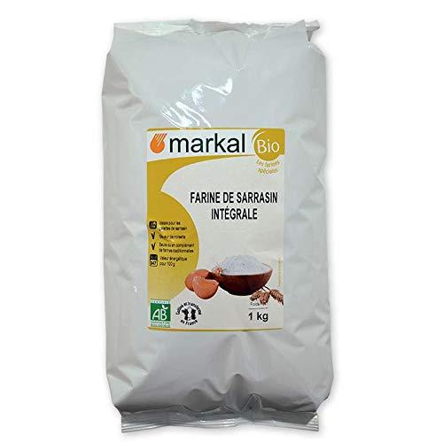 MARKAL - FARINE DE SARRASIN INTEGRALE 1KG