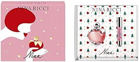 Nina Ricci Luna for Women 2 Pieces Set (1.7 Ounce Eau De Toilette Spray + 10 ML Roll On)