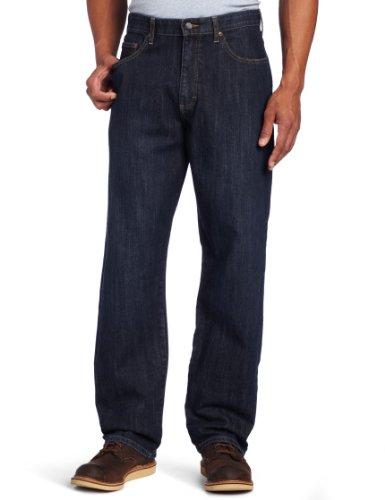 Lee Men's Big & Tall Premium Select Custom Fit Loose Straight Leg Jean, Vandal, 46W x 32L