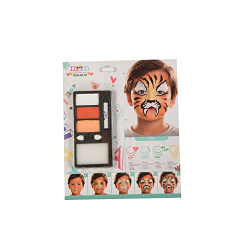 My Other Me Me-207072 Kit Maquillaje Infantil Tigre, Talla �
