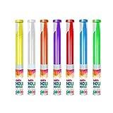 Grupo TodoLuminosos - Cañones de Polvos Holi de Colores 30-110 Gramos Azul (Rojo)