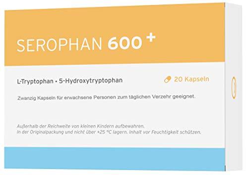 Serophan | 5-HTP Stimmungs- Booster mit Tryptophan | 20 Kapseln | Vegan - Made in Germany