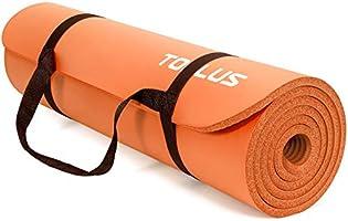 TOPLUS Verdickte Gymnastikmatte Phthalatfreie Yogamatte rutschfest und gelenkschonend Sportmatte für Yoga Pilates Sport...