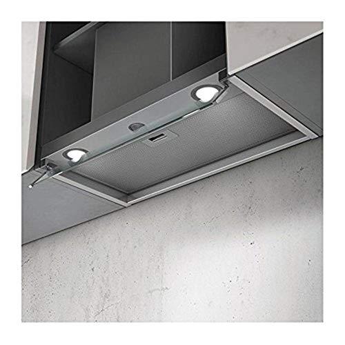 Elica Box in LX/ix/A/60 intégré B acier inoxydable – Hotte (intégré, canalizado, B, LED, acier inoxydable, aluminium)
