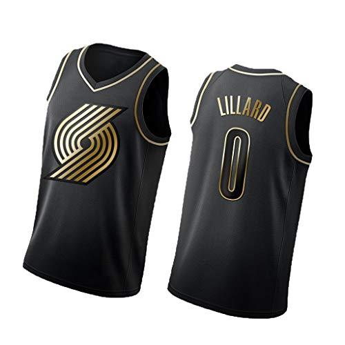 DGSFES Lijster No.0 Basketbal Mouwen Sport Mouwloos Jersey Trail Blazers Uniform pak Tops Basketbal t-shirt