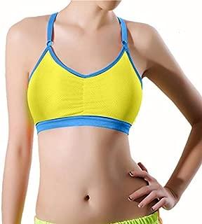 Sutiã esportivo feminino REYO liso fitness yoga sutiã esportivo de alto impacto costas nadador atlético