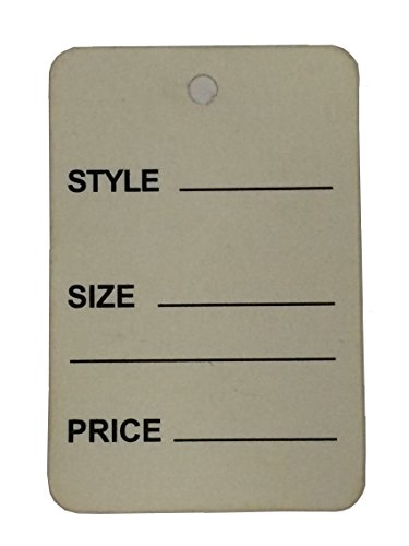 """1000pcs Gray Color One Part Unstrung Perforated Price Coupon Tag Clothing Price Labels/clothing Tag/perforated Price Coupon Tags 1 1/4"""" X 1 7/8"""""""
