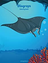Stingrays Coloring Book 1 (Volume 1)