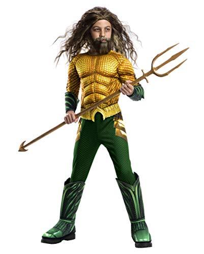 Horror-Shop Aquaman Niño Disfraz De Músculos Deluxe L